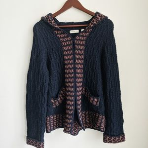 3 for 30 Blue Knit Cardigan Jacket